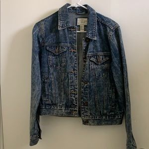 Forever 21 Acid Wash Jean Denim Jacket Sz S